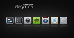 elegance - iphone theme (DDrDark) Tags: camera blue red orange green apple canon mac nikon glow imac ipod play kodak cam maps touch pad mini macmini 3g calculator pro theme remote mp messages calc sms 3gs settings touchpad iphone swich macbook macpro