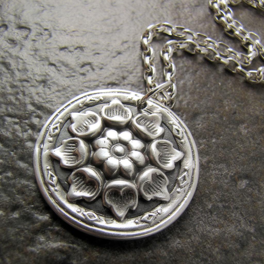 Fine Silver Pendant -