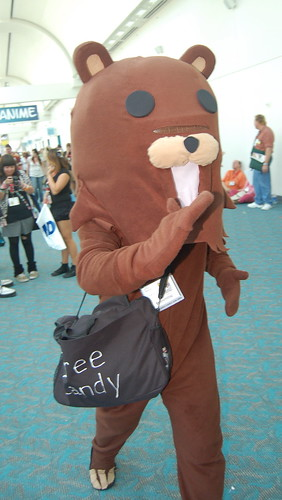 Comic Con 09: pedo bear