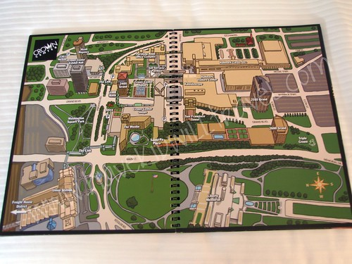 Map of Crown Center