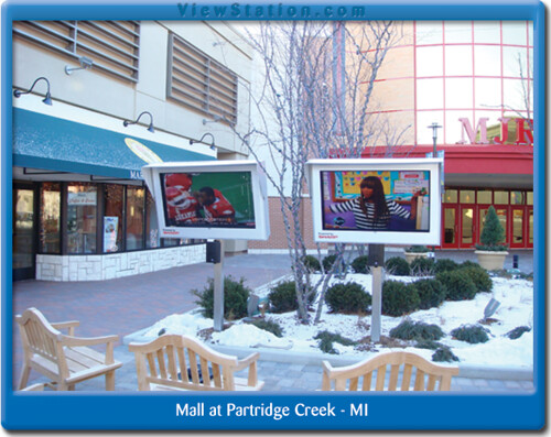 LCD Enclosure, viewstation at Mall at Partridge Creek - MI