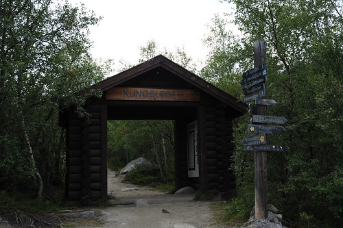 Kungsledenの入り口