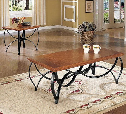 World Imports 2836 3 Pack Occasional Table Group