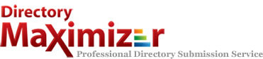 Directory Submissions - Directory Maximizer Logo