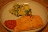 Ottolenghi's Roasted Salmon with Red Pepper Salsa and Smashed Potatoes