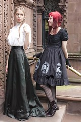 Neo-Victorian (Anna Fischer) Tags: vintage costume victorian retro lolita loli historical traje dov steampunk neovictorian kostm  puku   dancesofvice