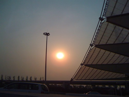 北京首都機場附近街景