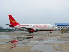 Air India's newly converted Boeing 737 Freighters operating for India Post (Mark D. Martin India) Tags: vijay india martin bell d mark air jet indigo 8 systems cargo dash kingfisher 1900 airbus 650 ng boeing 300 airways mumbai airlines beechcraft kolkata 72 42 747 oberoi global paramount 737 piaggio a320 supply alliance gulfstream airindia 550 mukesh atr mallya reliance ambani avanti spicejet indianairlines p180 gmg nacil mdlr
