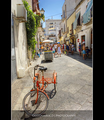 Favignana - Tricycle waiting its possessor :: HDR