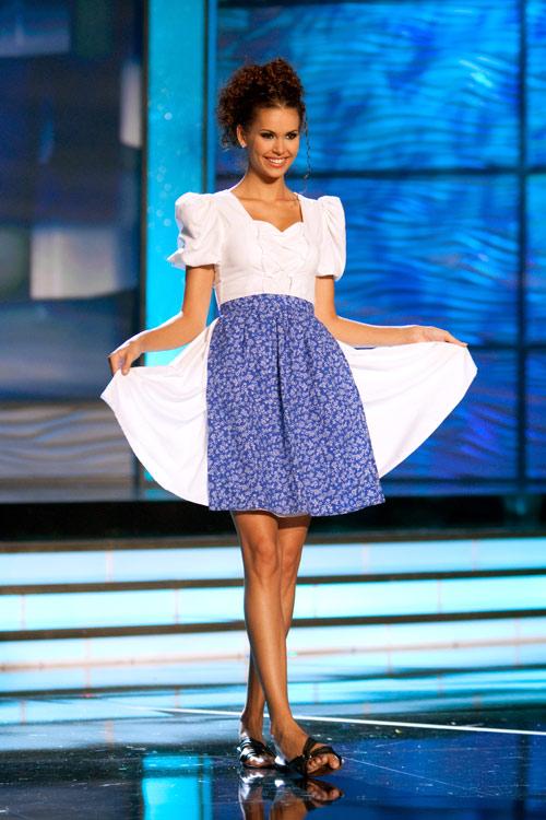 Traje Típico de Miss Hungría