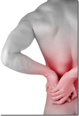 Si llaman a la casa del médico al dolor en la espalda