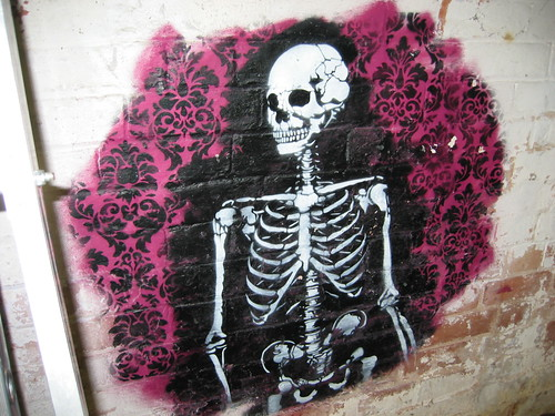 skeleton stencil