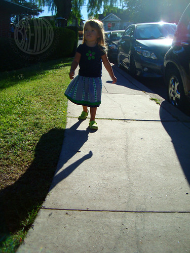 swishy skirt