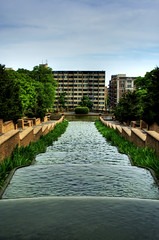 Meridian Hill Park HDR (cyrusrassool) Tags: park urban washingtondc waterfall dc washington spring hill hdr meridian columbiaheights ustreet