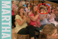 Martha: Quick Screen Capture Panning the Studio Audience