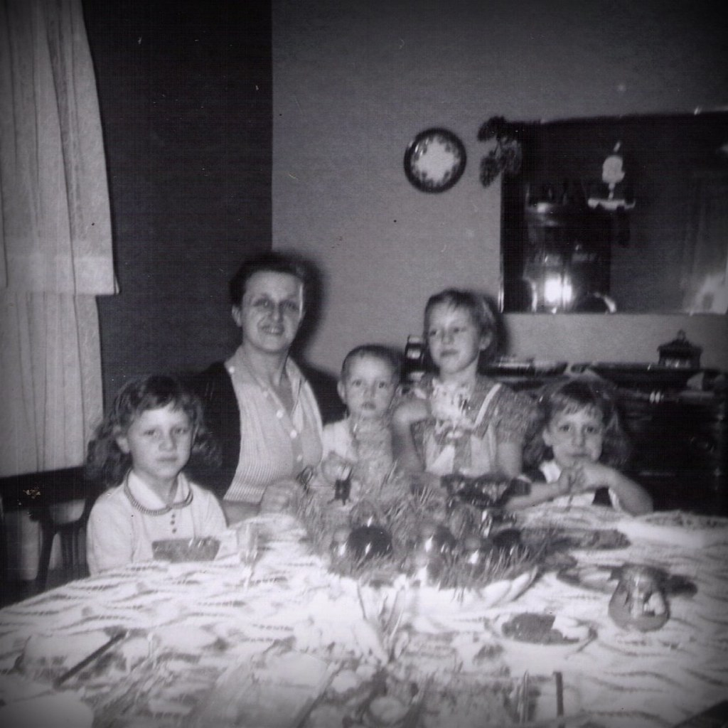 1950s Kids with Grammy Hine 2