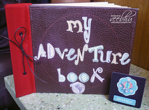 veebhu: my adventure book! scrapbook inspired by the movie UP