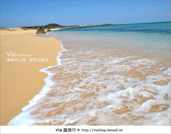 【澎湖沙灘】山水沙灘,遇到菊島的夢幻海灘!25