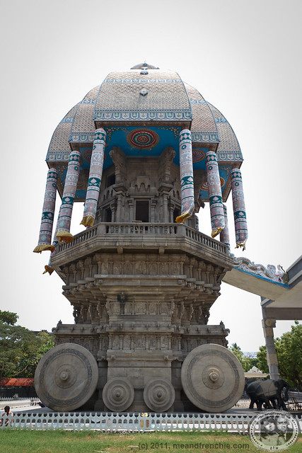 Chariot Memorial Dedicated To Tamil Poet-Saint Thiruvalluvar