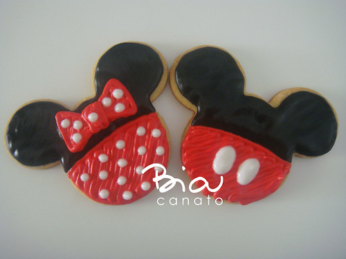 Biscoitos Minnie e Mickey