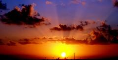 Fantastic Sunset (NiCk AnDeRsEn) Tags: sunset sun del clouds mexico fantastic playa carmen concordians