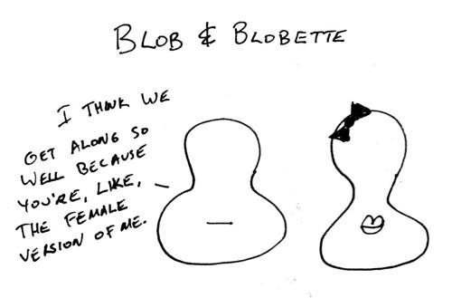 366 Cartoons - 017 - Blob and Blobette