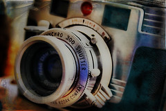 Kodak Signet 35 (bob merco) Tags: camera texture photoshop vintage kodak grunge textures montage layers signet hdr textured orton layered cs3 supermerc81 bobmerco lonesomelizardfilms bobmercogliano