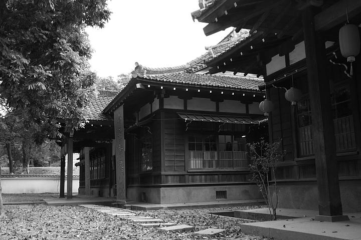 嘉義市史蹟資料館(黑白)17