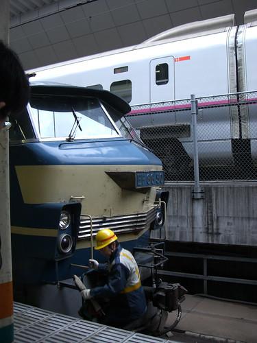 "EF66寝台特急富士/はやぶさ/EF66 electric locomotive Limited Express ""Fuji/Hayabusa"""