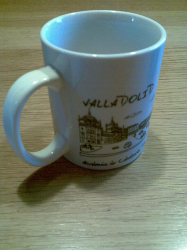 Valladolid farewell coffee mug