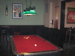 NE Portland Sports Bar, Pool Tables