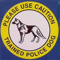 Trained Police Dog