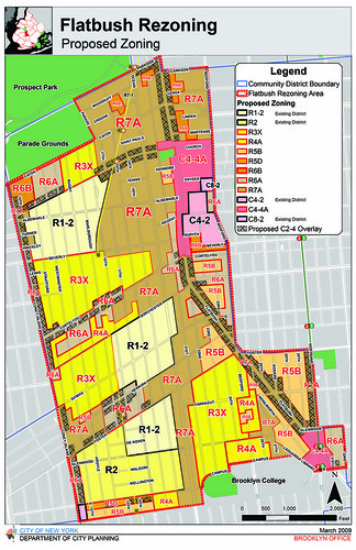 Flatbush Rezoning Proposal: Proposed Zoning