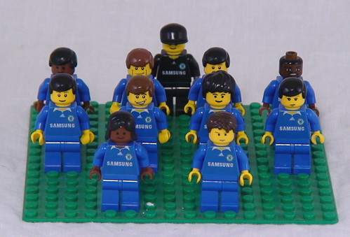 Chelsea Football Club as Lego custom minifig