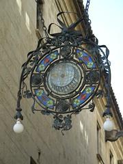 Fanal d'entrada del Carrer de Santa Maria de Vilafranca del Penedès