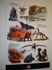 animales de la trilogía de precuelas