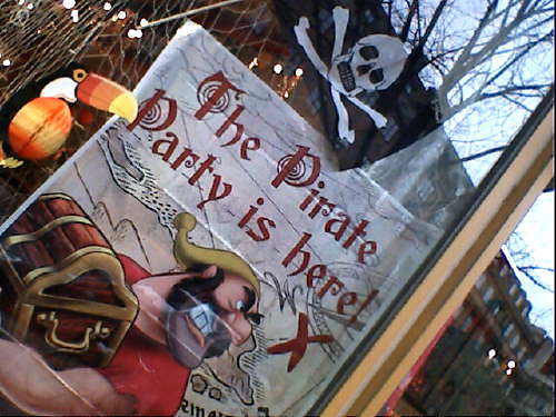The Pirate Party is here