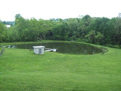 Hill top view (mike murtha) Tags: green grass pond murtha
