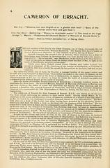 002-Cameron of Erracht descripcion del clan