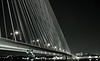 Rama VIII (GeeKee (formerly nobsresh)) Tags: bridge blackandwhite architecture night canon thailand asia bangkok 24105f4 earthasia winnerbc ramaviiibridgechinatownnightshot