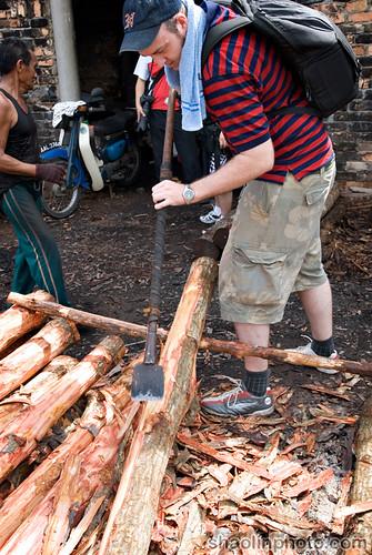 Stripping a Log