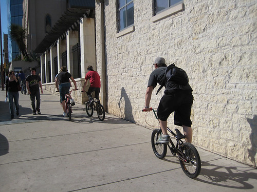 Sidewalk Riders in Austin