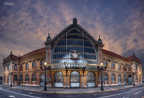 Estación de ferrocarril de almería, Foto D. Leiva (Flickr)