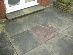 Patio (before)