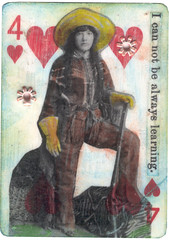 Four of Hearts: I Cannot Be Always Learning