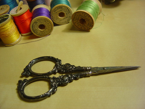 How to Sharpen Sewing Scissors | eHow.com