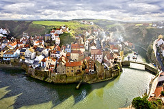 Staithes, viewed from Cowbar Nab. (Tall Guy) Tags: uk photography coast photo photos yorkshire enjoy northyorkmoors staithes tallguy cowbarnab
