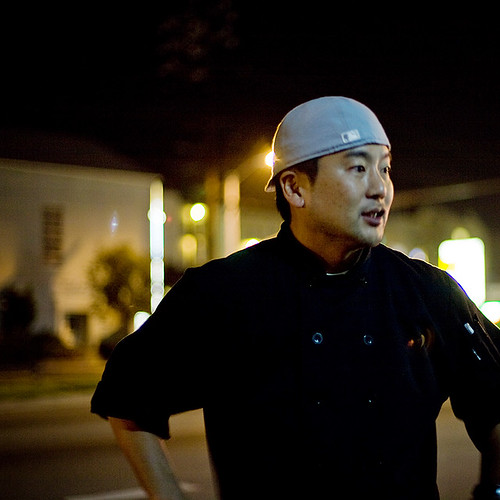 Eatdrinknbmerry & Roy Choi of Kogi BBQ Taco Tour