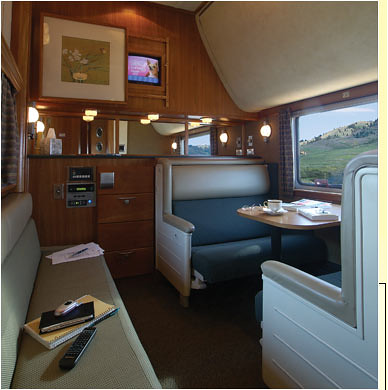 Train Chartering - The Puget Sound private rail car lounge diner