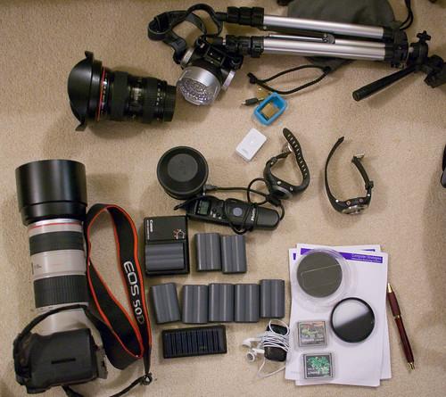 Everest trip camera kit